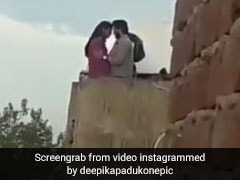 दीपिका पादुकोण की फिल्म का सीन लीक, किसिंग Video हुआ वायरल