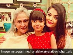 Aishwarya Rai Bachchan And Aaradhya Wrap Jaya Bachchan's Birthday With This Pic