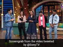 कपिल शर्मा के शो पर लगा भोजपुरी तड़का, निरहुआ-खेसारी और आम्रपाली ने जमकर की मस्ती, देखें Video