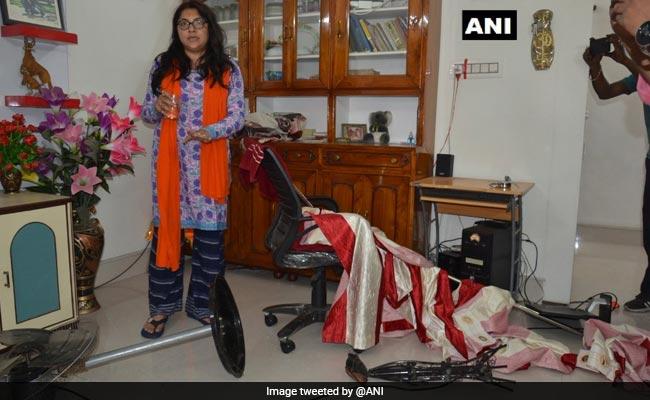 Locket Chatterjee's House Ransacked, BJP Complains Against Trinamool
