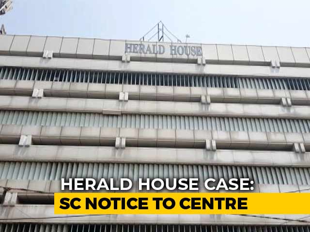 Video : National Herald Case: Supreme Court Stops Eviction Of Publisher For Now