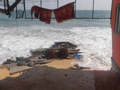 Sea Erosion Damage In Thiruvananthapuram, Days Before Cyclone Fani Expected