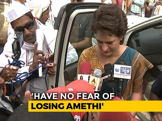 Video : Is Rahul Gandhi Insecure In Amethi, Priyanka Gandhi Was Asked. Her Reply