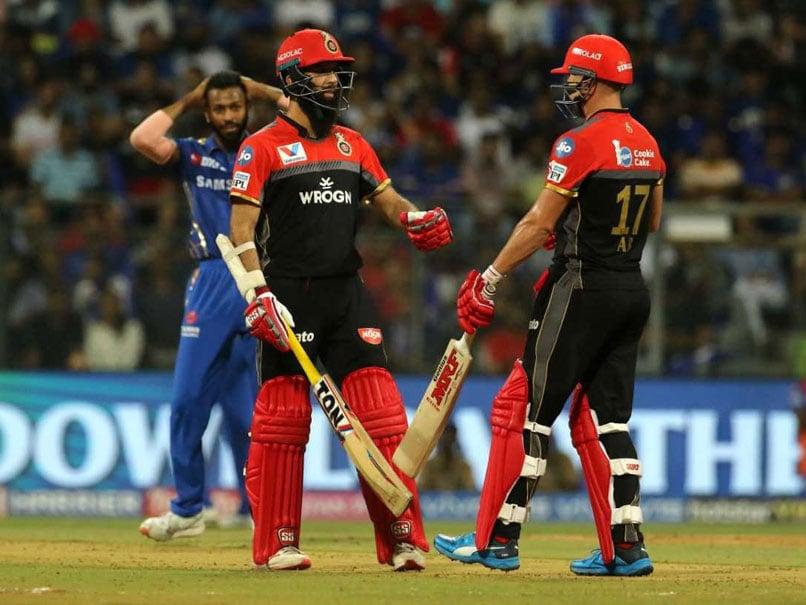IPL Live Score, MI vs RCB IPL Score: Moeen Ali Falls After Fifty, AB De Villiers Key For Big Total