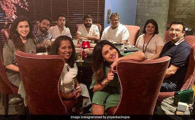 Priyanka Chopra Soaking In Family Love Ahead Of Brother Siddharth's Wedding
