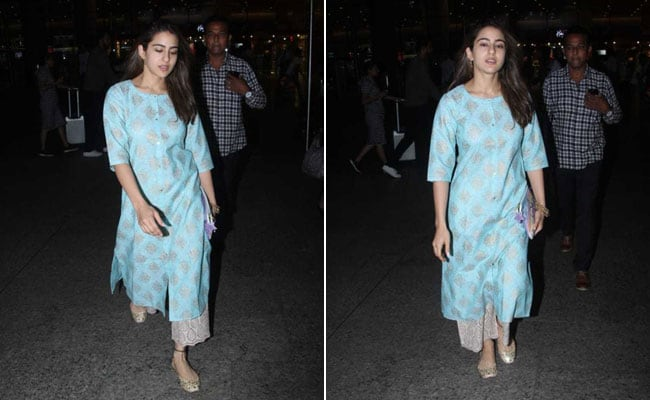 Sara Ali Khan Looks Summer Ready In A Pastel <i>Kurti</i>. 8 Pretty Options