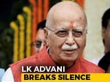 "Video: In Blog, LK Advani's Message To BJP On ""Democracy Within Party"""