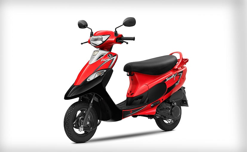 The TVS Scooty range was first launched in 1994 in India