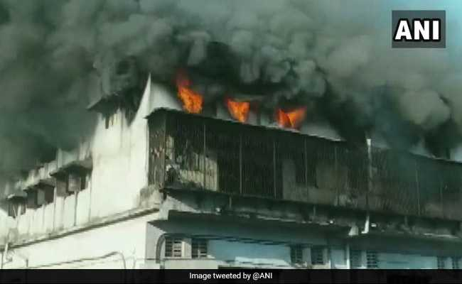 Massive Fire Breaks Out At Thane Factory, No Casualties Reported