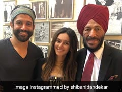 When Shibani Dandekar Met The 'Real And Reel' Life Milkha Singh