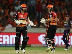 David Warner, Jonny Bairstow Will Be Missed By SunRisers Hyderabad: Kane Williamson