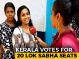 Video : All 20 Kerala Lok Sabha Seats Go To Polls, Sabarimala Takes Centrestage