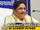 "Video : Mayawati Gets No Reprieve From Ban, Top Court ""Satisfied"" With Action"