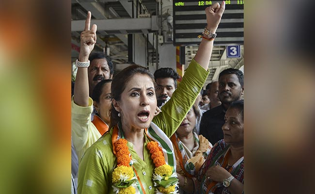 Urmila Matondkar Gets Police Cover After Congress-BJP Clash in Mumbai