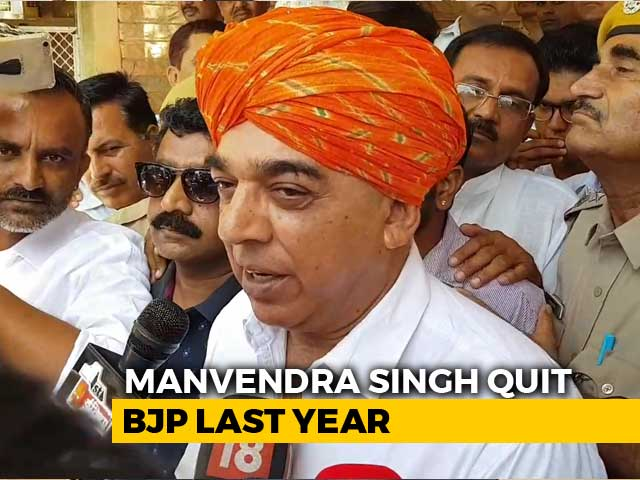In Barmer, Jaswant Singh's Son Seeks To Correct Past Wrongs