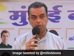 "Elections 2019-""Will Break Before Assembly Polls"": Milind Deora On BJP-Sena Alliance"