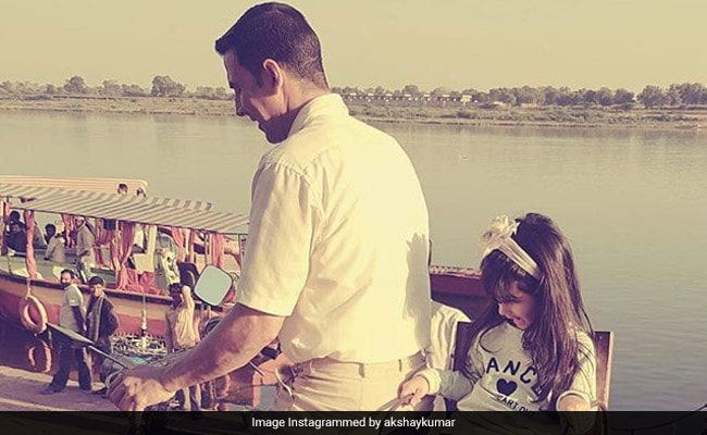 Akshay Kumar's Daughter Nitara, 6, Is Going To Be As Hardcore Fit As Her Dad
