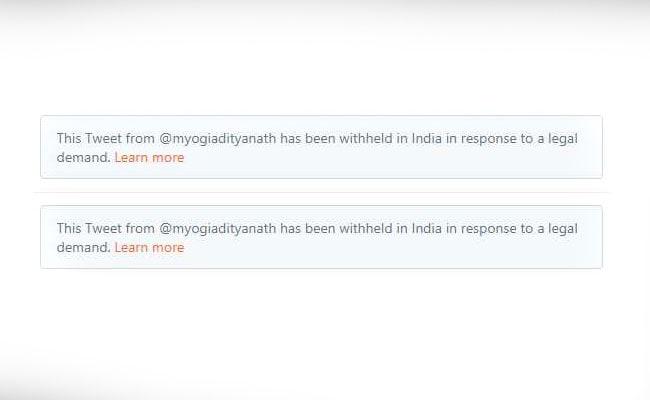 Yogi Adityanath's 'Virus' Tweets Against Muslim League (IUML) Deleted By Twitter