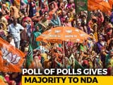 Video : BJP Will Manage Majority, With Allies, Predicts Poll Of Opinion Polls