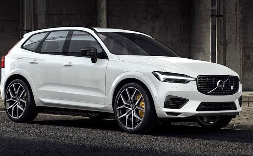 The Volvo XC60 Polestar is based on the standard T8 variant.