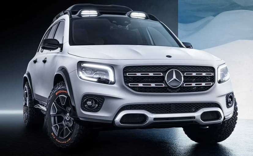 Expect the production version of the Mercedes-Benz GLB to be launched next year