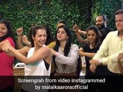 मलाइका अरोड़ा ने 'छैंया छैंया' पर ऐसे धमाकेदार अंदाज में किया डांस, वायरल हुआ Video