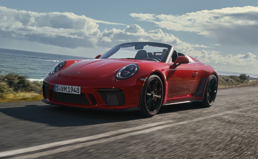 2019 New York Auto Show: Porsche 911 Speedster Breaks Cover