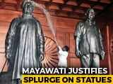 "Video : Mayawati Justifies Her Statues In Top Court: ""Represent Will Of People"""