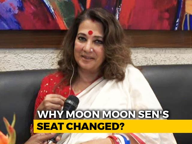 "Video : How Moon Moon Sen Was ""Surprised"" By Mamata Banerjee"