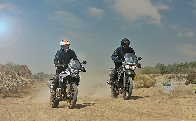 We pit the BMW F 850 GS against the Triumph Tiger 800 XCx