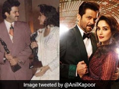 27 Years Of <i>Beta</i>: Here's How Anil Kapoor Is 'Looking Back' With Madhuri Dixit