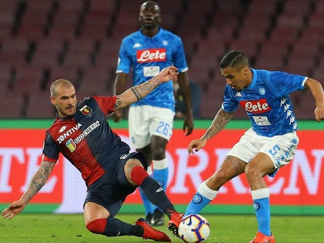 Napoli Draw Puts Juventus Serie A Coronation On Hold