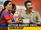 "Video : ""Want PM Modi For The Next 5 Years,"" Says Sunny Deol After Joining BJP"