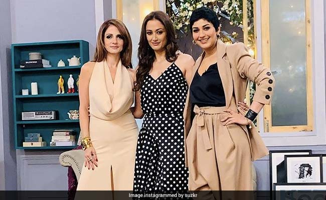 'Baes For Life' Sonali Bendre, Sussanne Khan, Gayatri Joshi Are Just The Dose Of Sunshine You Need