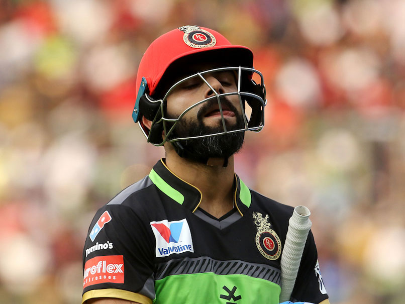 Virat Kohli Says No Excuses Left After RCB's Sixth Straight IPL 2019 Loss