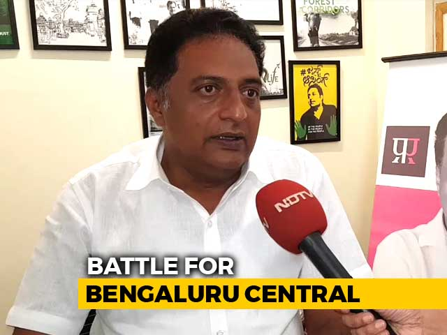 Video : Actor Prakash Raj On Why He Is Contesting As Independent From Bengaluru Central