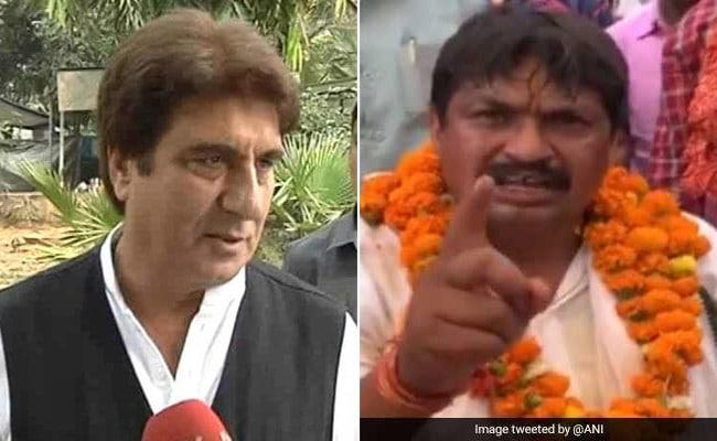 फतेहपुर सीकरी से BSP उम्मीदवार गुड्डू पंडित ने राज बब्बर को दी 'जूतों से मारने' की धमकी, बॉलीवुड से यूं आया रिएक्शन