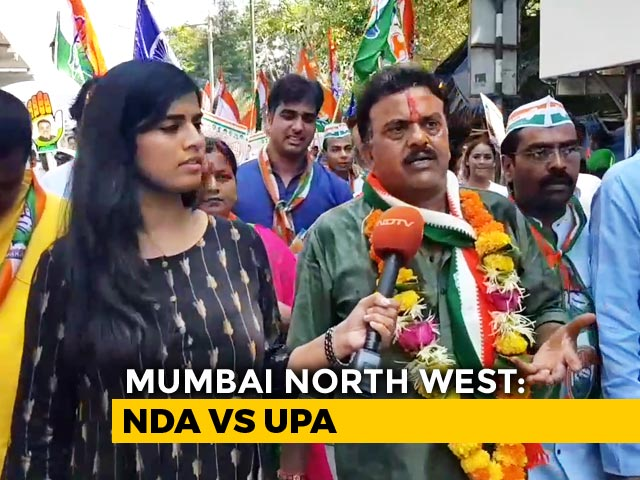Video : General Elections 2019: North Indians Key In Battle For Mumbai North West