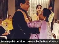 Viral: Jeetendra And Shobha Kapoor's <I>Jawani Janeman</I> Dance On Actor's Birthday