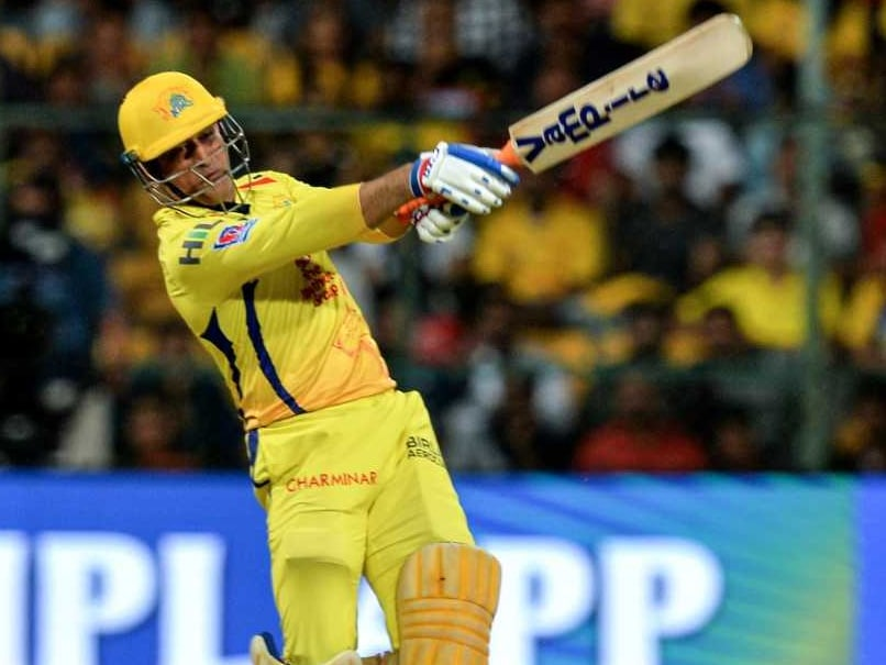 Dhoni blitz in vain as Chennai lose to Bangalore