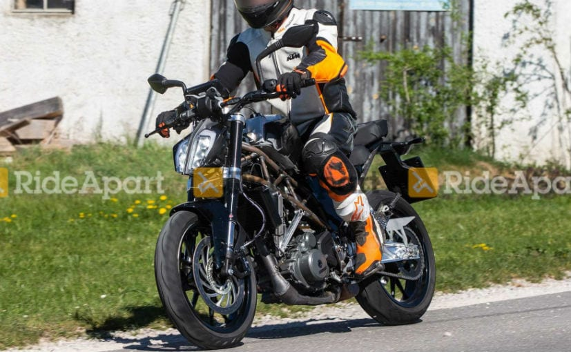 2021 KTM 390 Duke Spotted Testing For The First Time