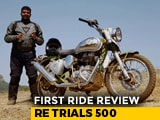 Video : Royal Enfield Trials 500 First Ride Review