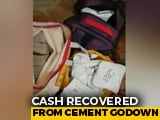 Video : Huge Cash Found During Tax Raids At Tamil Nadu Warehouse
