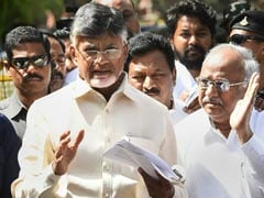 """Disturbing"": Chandrababu Naidu On Bengal Campaign Being Cut Short"