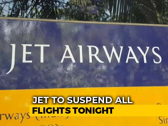 Video : Jet Suspends Ops, Last Flight From Amritsar To Mumbai Tonight
