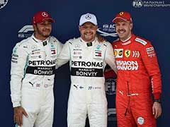 Valtteri Bottas On Pole In Mercedes One-Two For Landmark Chinese GP