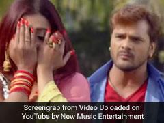 खेसारी लाल यादव और काजल राघवानी ने यूट्यूब पर मचाया धमाल, बार-बार देखा जा रहा है Video