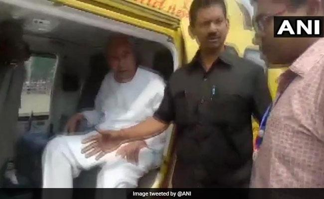 Lok Sabha Polls 2019: Probe Panel's Flying Squad Checks Naveen Patnaik's Chopper In Rourkela