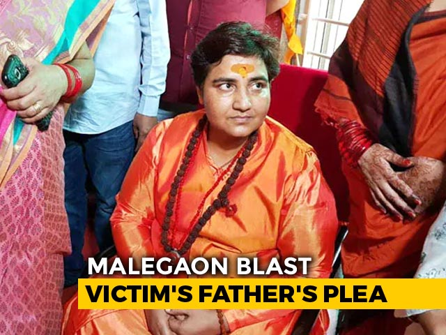 Video : Malegaon Victim's Father Wants Pragya Thakur Out Of Polls, Goes To Court