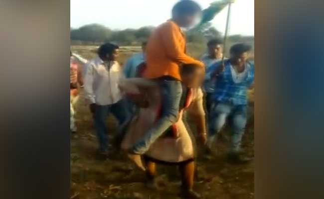 Madhya Pradesh Woman Shamed, Forced To Walk With Husband On Shoulders